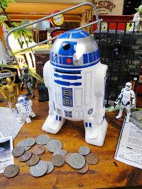 スターウォーズ R2-D2バンク ■ アメリカ雑貨 アメリカン雑貨 スターウォーズ グッズ プレゼント フィギュア 文房具 貯金箱 おしゃれ かわいい アメキャラ アメコミ