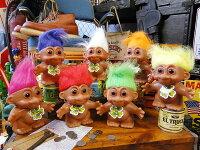 トロール人形バンク(7体セット)■アメリカ雑貨アメリカン雑貨アメキャラ貯金箱