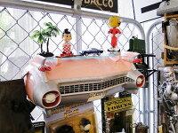ピンクキャデラックのカーシェルフ■アメリカ雑貨アメリカン雑貨
