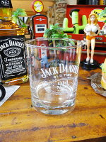 ジャック・ダニエルのロックグラス(ホワイト)■アメリカ雑貨アメリカン雑貨