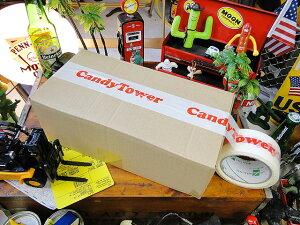 キャンディタワーのパッキングテープ 50m ■ アメリカ雑貨 アメリカン雑貨 パッキングテープ