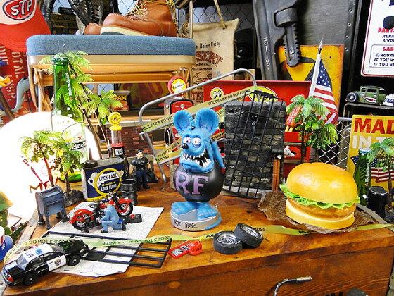 【FUNKO】ファンコラットフィンクのボビングヘッド(ブルー)■アメリカ雑貨アメリカン雑貨