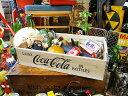 コカ・コーラブランド ウッドクレート ナチュラル ■ コカコーラグッズ 雑貨 グッズ ブランド Coca-Cola アメリカ雑貨…