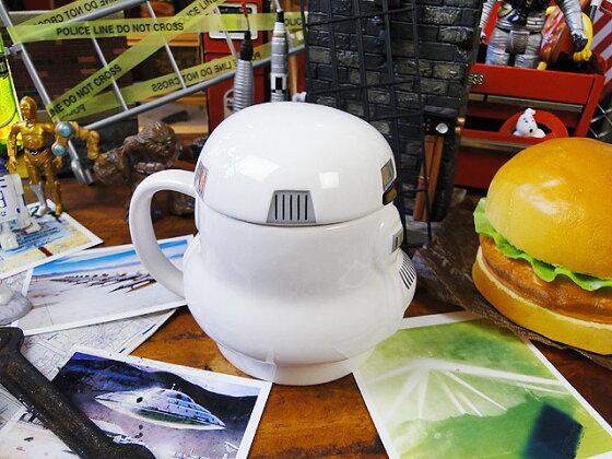 スターウォーズの3Dマグカップ(ストーム・トゥルーパー)■アメリカ雑貨アメリカン雑貨