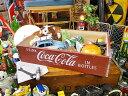 コカ・コーラブランド ウッドクレート レッド ■ コカコーラグッズ 雑貨 グッズ ブランド Coca-Cola アメリカ雑貨 ア…