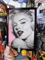 ハリウッド・ウォールアートパネル(マリリン・モンロー/リップ)■アメリカ雑貨アメリカン雑貨