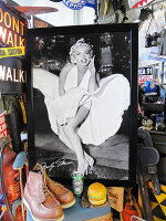 ハリウッド・ウォールアートパネル(マリリン・モンロー/7年目の浮気)■アメリカ雑貨アメリカン雑貨