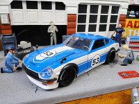 Jada1972年ダットサン240Zのダイキャストモデルカー1/24スケール(ブルー)■アメリカ雑貨アメリカン雑貨アメ車インテリアこだわり派が夢中になる人気のアメリカ雑貨屋小物モデルカー正規品