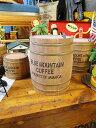 ミニ樽(LLサイズ) ■ アメリカ雑貨 アメリカン雑貨 木箱 樽 ゴミ箱 人気 おしゃれ ...
