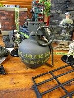 本物そっくりの手榴弾のレプリカ(M67タイプハンドグレネード/単品)■アメリカ雑貨アメリカン雑貨