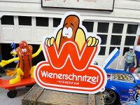 ウインナーシュニッツェルのステッカー■アメリカ雑貨アメリカン雑貨アメリカ雑貨ステッカー飾り装飾スーツケースデカールシール車アウトドア