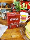 コカ・コーラ チェストクーラー型つまようじディスペンサー ■ コカコーラグッズ 雑貨 グッズ ブランド Coca-Cola ア…