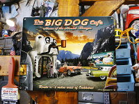 ビッグドッグカフェのU.S.ヘヴィースチールサイン■アメリカ雑貨アメリカン雑貨