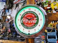 アメリカンネオンクロック(コカ・コーラ)■アメリカ雑貨アメリカン雑貨