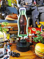 コカ・コーラコンツアーボトルのテーブルネオン■アメリカ雑貨アメリカン雑貨