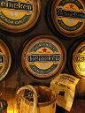 「プロ」っぽくディスプレイ! ハイネケンのビア樽型ウォールオブジェ ■ 楽天1位 アメリカ雑貨 アメリカン雑貨 壁飾…
