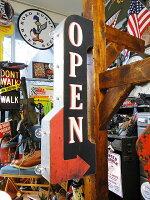 アーケードサイン(オープン)■アメリカ雑貨アメリカン雑貨アメリカ看板オープン壁掛けインテリアアンティーク調店舗用ディスプレイおしゃれグッズオブジェディスプレイ用置物人気