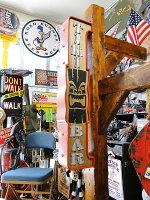 アメリカのアーケードサインのウォールオブジェ(ティキバー)■アメリカ雑貨アメリカン雑貨看板オープン壁掛けインテリアアンティーク調店舗用ディスプレイおしゃれグッズオブジェ人気間接照明北欧アンティーク