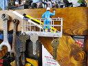 窓ふき作業リフトのキーフック ■ アメリカ雑貨 アメリカン雑貨 アメリカ 雑貨 おもしろグッズ 人気 インテリア 置物 …
