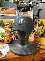 マクドナルドマックバイザー(ブラック)■アメリカ雑貨アメリカン雑貨