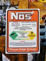 NOSのニロトボンベ看板■アメリカ雑貨アメリカン雑貨