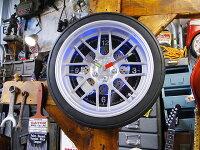 タイヤクロック(Lサイズ)■アメリカン雑貨壁掛け時計