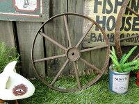 アンティークアイアン車輪(Sサイズ)■アメリカ雑貨アメリカン雑貨