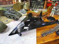 アメリカ軍の戦闘機モデルエアプレーン(F-117ステルス戦闘機)■アメリカ雑貨アメリカン雑貨