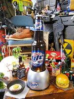 ミラーライトのビアボトル型バブルライト■アメリカ雑貨アメリカン雑貨