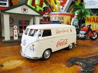 コカ・コーラ1962年フォルクス・ワーゲンカーゴバンのダイキャストミニカー1/43スケール■アメリカ雑貨アメリカン雑貨