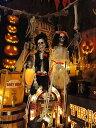 【即納】【在庫あり】スケルトングルーム&ブライド 2体セット ■ ハロウィン グッズ 雑貨 飾り ディスプレイ ハロウ…
