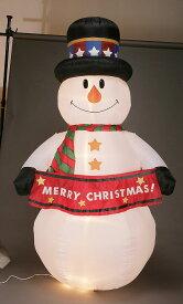 クリスマス・ビッグスノーマンのエアブロー Lサイズ