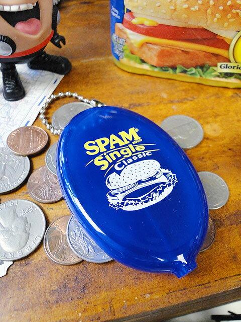 スパムのラバーコインケース(シングルクラシック)■アメリカ雑貨アメリカン雑貨