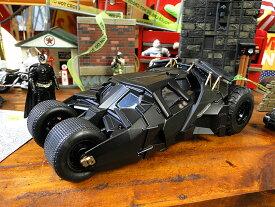 映画「バットマン ダークナイト」バットモービルのダイキャストモデルカー(バットマン付き) ■ アメリカ雑貨 アメリカン雑貨