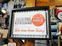 コカ・コーラフレームアート(デリシャス)■コカコーラグッズ雑貨グッズブランドCoca-Colaアメリカ雑貨アメリカン雑貨壁面装飾装飾飾りディスプレイ内装人気ウォールデコレーションコーラレトロポスター