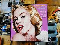 マリリン・モンローのポップアートフレーム(エキゾチック)■アメリカ雑貨アメリカン雑貨