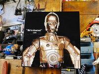 映画「スターウォーズ」のポップアートフレーム(C-3PO)■アメリカ雑貨アメリカン雑貨
