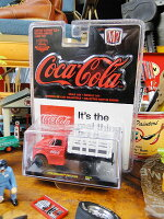コカ・コーラ限定モデルM2ミニカー1/64スケール(1949年スチュードベイカー/2Rトゥートラック)■ミニカーアメ車アメリカ雑貨アメリカン雑貨アメリカ雑貨インテリアこだわり派が夢中になる人気のアメリカ雑貨屋小物モデルカー