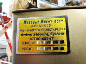 マーキュリー メタルマグネット(ヘヴィーデューティー/イエロー) ■ アメリカ雑貨 アメリカン雑貨