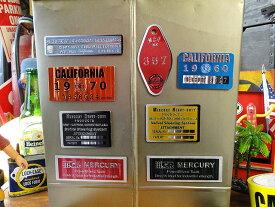 マーキュリー メタルマグネット(8種類オールセット) ■ アメリカ雑貨 アメリカン雑貨