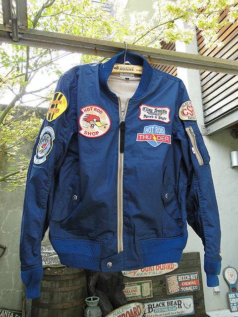 クレイスミスのフライトジャケット(ガンメタ)■アメリカ雑貨アメリカン雑貨