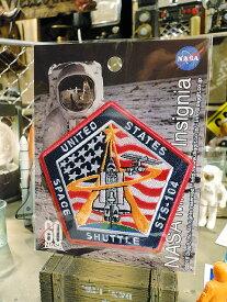 NASAオフィシャルワッペン(スペースシャトル/STS-104)