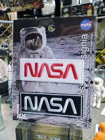 NASAオフィシャルワッペン(ロゴ2色セット)