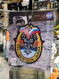 NASAオフィシャルワッペン(USA・ISSミッション)