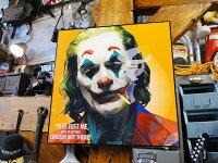 映画「ジョーカー」ホアキン・フェニックスのポップアートフレーム(TYPE3)