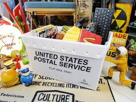 U.S.ポストボックス(USPS/ブラック)