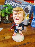 トランプ大統領のボブルヘッドドール(サーフトランプ)