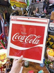 コカ・コーラのデカサイズステッカー XLサイズ(スクエアロゴ)