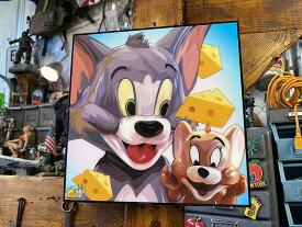 トムとジェリーのポップアートフレーム