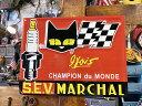 セブ・マーシャルのエンボス・ティンサイン(レクタングル)S.E.V. MARCHAL